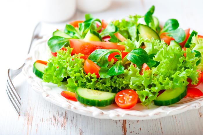 Салат овощной с фотографией